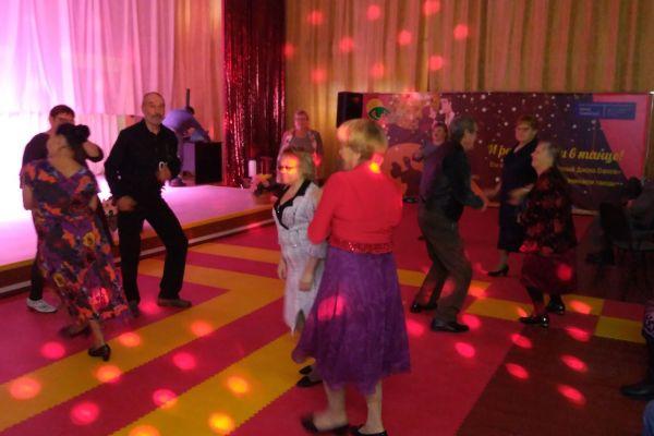«Дискотека 50 » в рамках проекта «И раз и два и в танце »