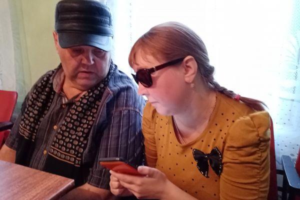 Ткаченко Николай Владимирович знакомится с устройством телефона