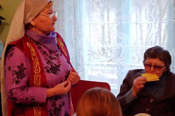 Хисматулина А.М. рассказывает о традициях своего народа