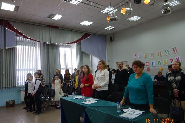 Участники конкурса и жюри