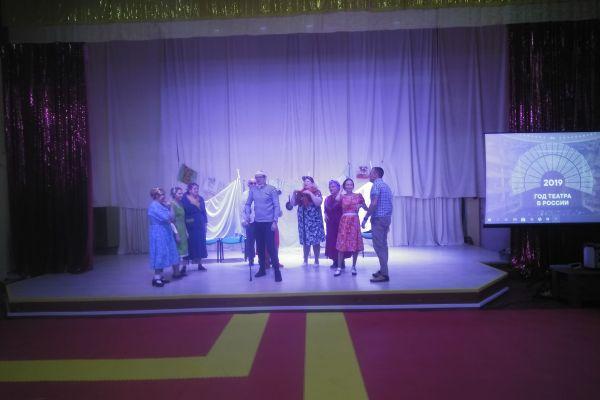 Театральная постановка  «Нервные люди»