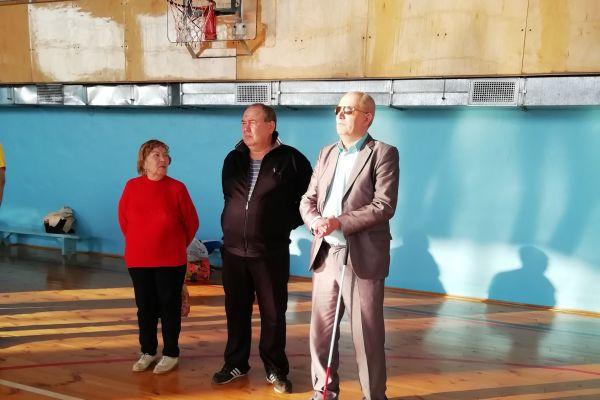 Победители от Юргинской МО ВОС и председатель МО