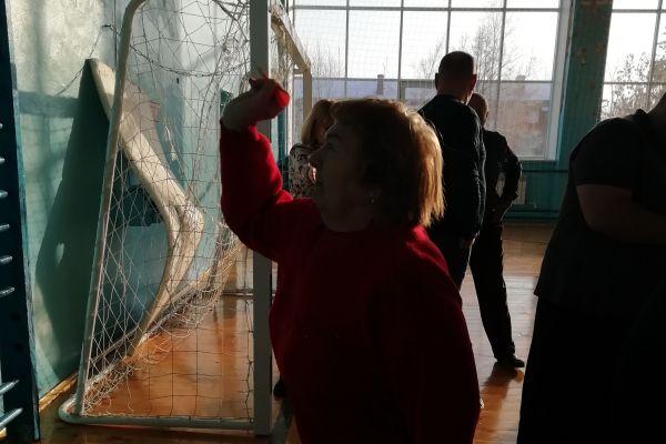 Соревнования среди инвалидов города Юрга