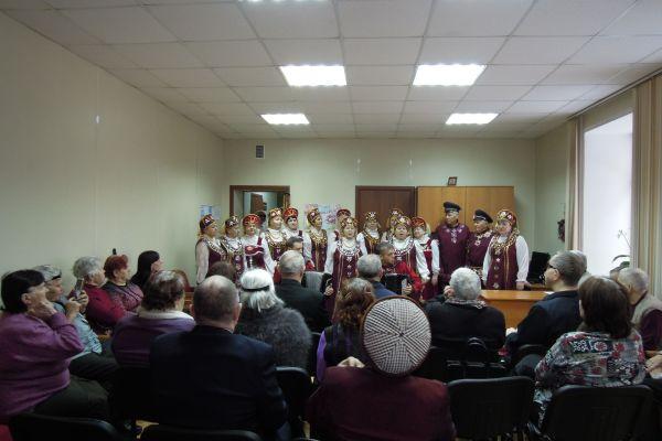 Народный хор ветеранов «Рябинушка»