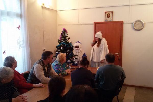 Дед Мороз даёт установку