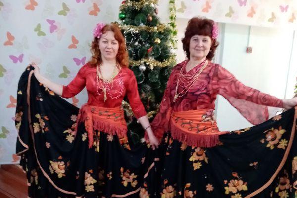 цыганский танец, дуэт из Прокопьевска
