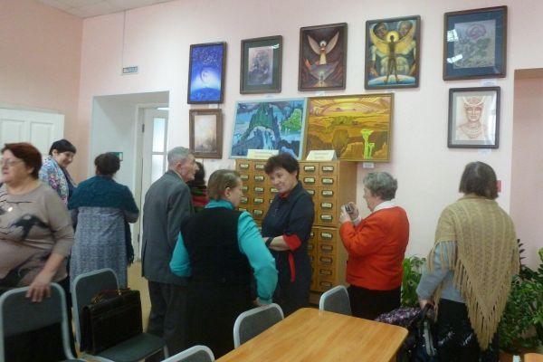 выставка картин «Симфония творчества»