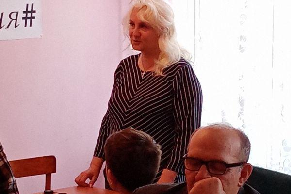 Азарова Светлана Васильевна  слова признательности.
