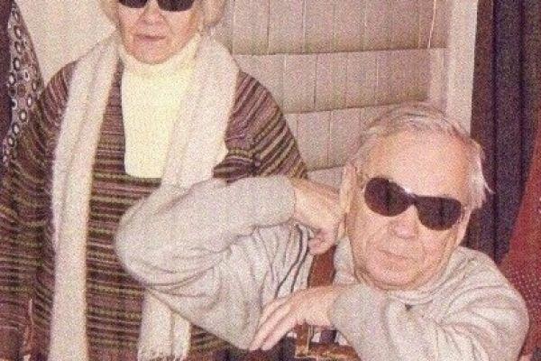 На снимке Дорогина Е.И. и Ахметгареев М.М.