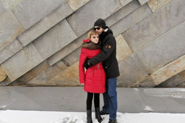 на фото Астанин Андрей и Светлана Болдырева