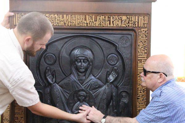 Абалакская икона Божьей Матери - на фото Галкин А.И.