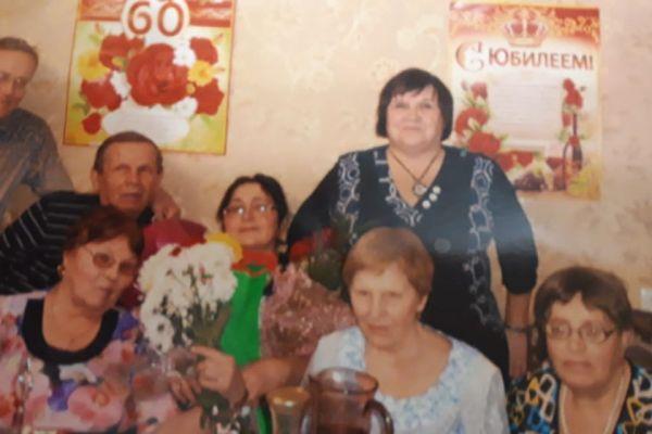 на фото члены ВОС г. Ленинск-Кузнецкий