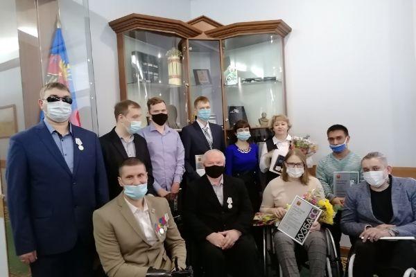 общая фотография с Губернаторского приема