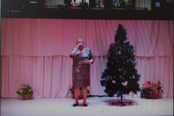 онлайн-встреча с Дедом Морозом и Снегурочкой
