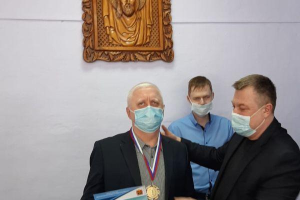 Награждение - шахматы Новокузнецк 2021