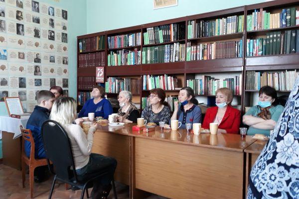 на фото Березовская ВОС группа