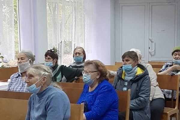 консультационная лекция, которую провели специалисты управления социальной защиты Центрального района