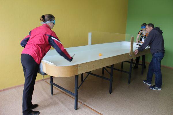 чемпионат по настольному теннису, спорт слепых