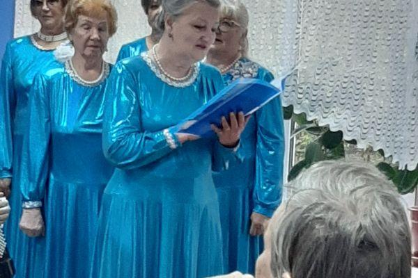 мероприятие, посвященное празднованию «Дня уважения старшего поколения»