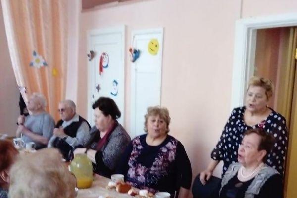 мероприятие, посвященное Дню пожилого человека